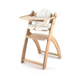 Medinė maitinimo kėdutė Yaris Natural