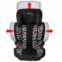 Autokėdutė Coto Baby Rumba IsoFix Zebra