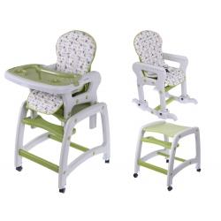 Maitinimo kėdutė–transformeris Brown 3in1