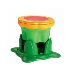 Paaukštinimas vaikams Kiddy Stool (spalva - žalia)