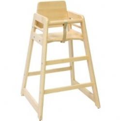 Medine maitinimo kėdutė su įdėklu (spalva - bukas, įdėklas - melsvas)