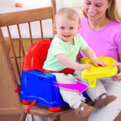 Maitinimo kėdutė tvirtinama ant kėdės