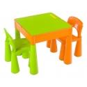 Vaikiškas baldų komplektas: stalas ir kėdutės