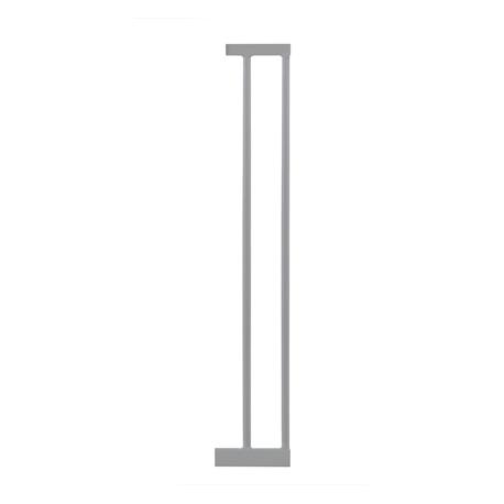 Lindam Sure Shut Deco vartelių išplatinimo sekcija 14 cm. (sidabriniai)