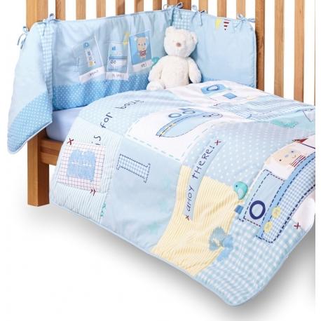 Antklodė ir lovos apsaugėlė Clair de Lune