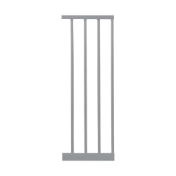 Lindam Sure Shut Deco vartelių išplatinimo sekcija 28 cm. (sidabriniai)