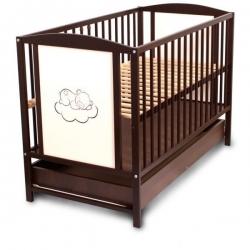 Vaikiška medinė lovytė Meškiukas (be stalčiaus)