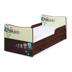 Vaikiška lova Pelėdos (be stalčiaus)