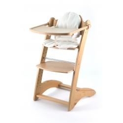 Medinė maitinimo kėdutė Laura Natural