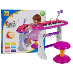 Muzikinis pianinas su kedute