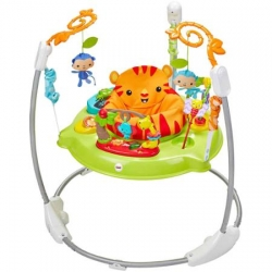 Fisher Price šokliukas Deluxe Rainforest