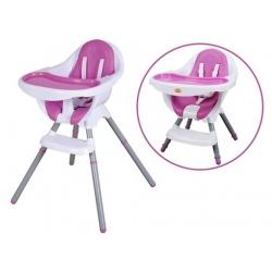 Funkcionali maitinimo kėdutė Violet-White