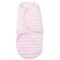 Vystyklas - kokonas kūdikiui SwaddleMe Pink Stripe (S dydis: 3,2 kg iki 6,4 kg)