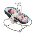 Tiny Love gultukas Rocker Napper Grey-Turquoise 3in1