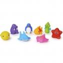 Munchkin žaisliukai voniai Jūros gyvūnai (8 vnt.)
