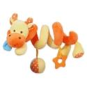 Pakabinamas žaislas - spiralė Žirafiukas