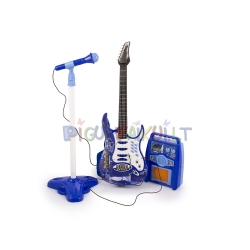 Muzikos rinkinys: Gitara, Mikrofonas, Stiprintuvas