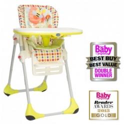 Chicco Polly 2in1 maitinimo kėdutė Happy Land