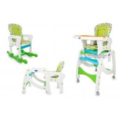 Maitinimo kėdutė–transformeris Green 3in1