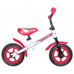 Paspirtukas – balansinis dviratis White Pink