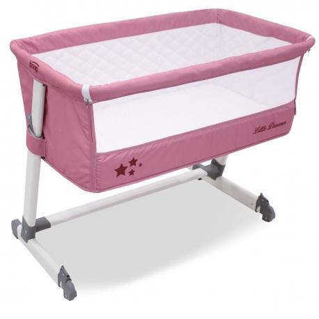 Lovytė - lopšys Asalvo Boop Light Pink