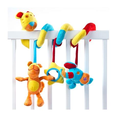 Pakabinamas žaislas - spiralė Lion