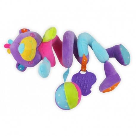 Pakabinamas žaislas - spiralė Meškiukas Blue