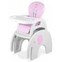 Maitinimo kėdutė – transformeris Eli Pink
