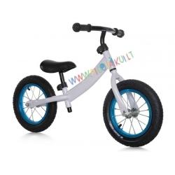 Balansinis dviratukas su stabdziu White Blue