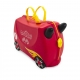 Vaikiškas lagaminas Trunki Rocco Race Car