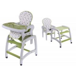 Maitinimo kėdutė–transformeris Green Flower 2in1