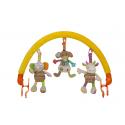 Žaislų lankas su 3 žaisliukais