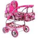 Vežimėlis lėlėms Belly Pink Flower