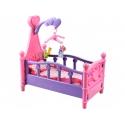 Lėlės lovytė su pataliukais