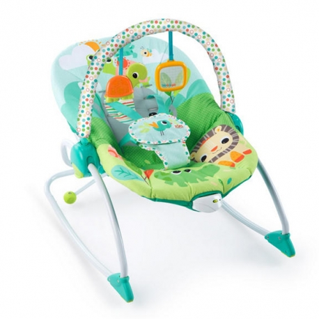 Bright Starts vibro kėdute – gultukas Baby to Big Kid