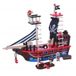 Piratų laivas su priedais