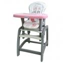 Maitinimo kėdutė – transformeris Pink Dog