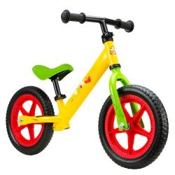 Paspirtukas – balansinis dviratis Mikė Pukuotukas