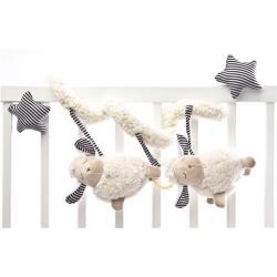 Pakabinamas žaislas - spiralė Avinėliai