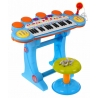 Vaikiškas pianinas su kedute, mikrofonu Power