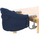 Maitinimo kėdutė tvirtinama prie stalo Blue Melange