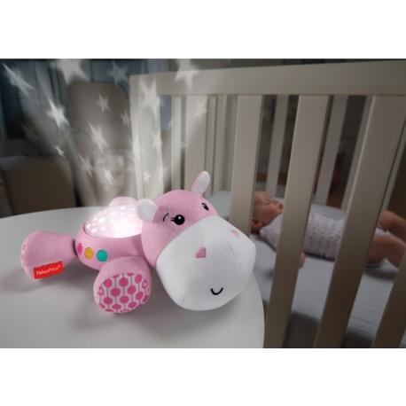 Fisher Price migdukas-projektorius Hippo Pink