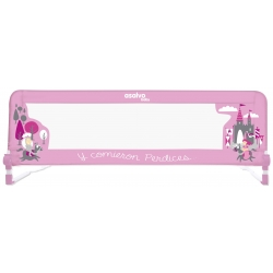 Asalvo apsaginis bortelis lovai Pink Fairytale 150 cm.