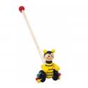 Medinis stumiamas žaislas Bitė