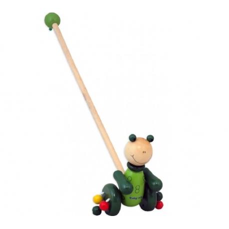 Medinis stumiamas žaislas Varlytė