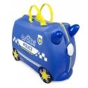 Vaikiškas lagaminas Trunki Perci Police Car
