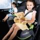Trunki nešiojama autokėdutė - vaikiška kuprinė Boostapak Green