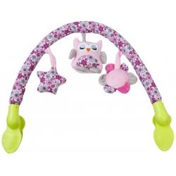 Lankas su žaisliukais Owl Pink