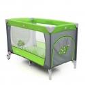 Dviejų aukštų Coto Baby Samba Plus Green maniežas