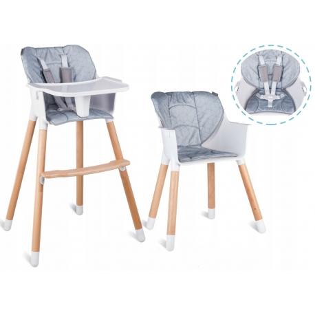 Funkcionali maitinimo kėdutė Grey Simmetry